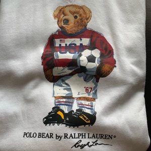 3d154ee6a39 Polo by Ralph Lauren Shirts - NWT Polo Ralph Lauren bear soccer USA hoodie